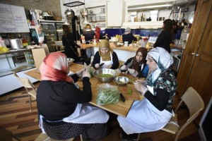 newcomer kitchen depanneur toronto syrian refugees cross-cultural