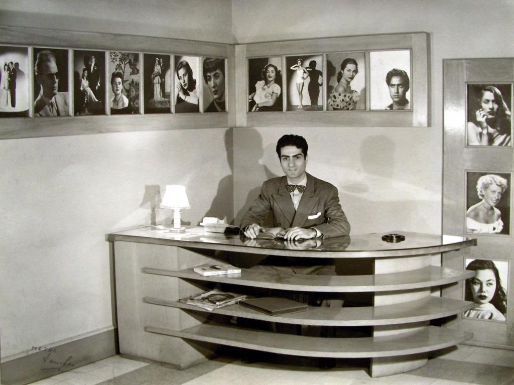 VL In His Studio