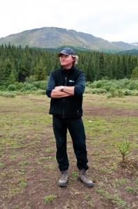 Portrait of ethnobotanist, Wade Davis