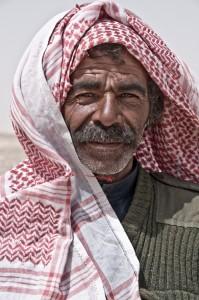 Bedouin man, Eastern Desert, Jordan