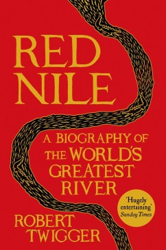 The book cover of Red Nile by author Robert Twigger.