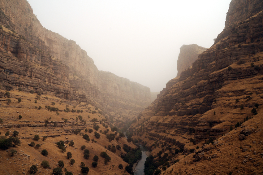 The Gali Ali Beg Canyon in Northern Iraq.