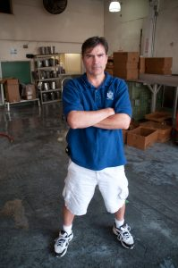 Sal Sunseri of P&J Oyster Co at his warehouse in New Orleans.