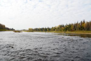 The North French River near Moosonee, Ontario