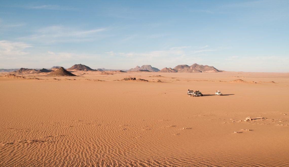 The Uweinat Desert region of the Western Desert of Egypt