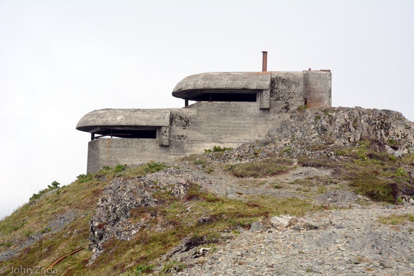World War Two bunker, Dutch Harbor, Dutch Harbor, Unalaska Island, Aleutian Islands, Alaska