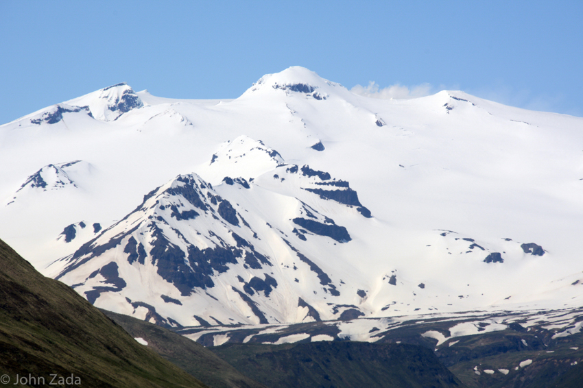 Makushin Volcano, Dutch Harbor, Unalaska Island, Aleutian Islands, Alaska