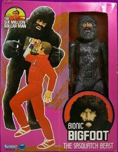 The Six Million Dollar Man Sasquatch