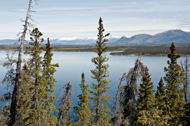 Kathleen Lake in Kluane National Park, Yukon Territory, Canada