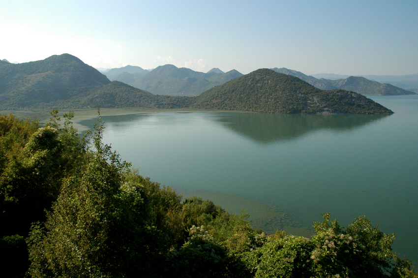 The pristine shores of Lake Skadar, Montenegro