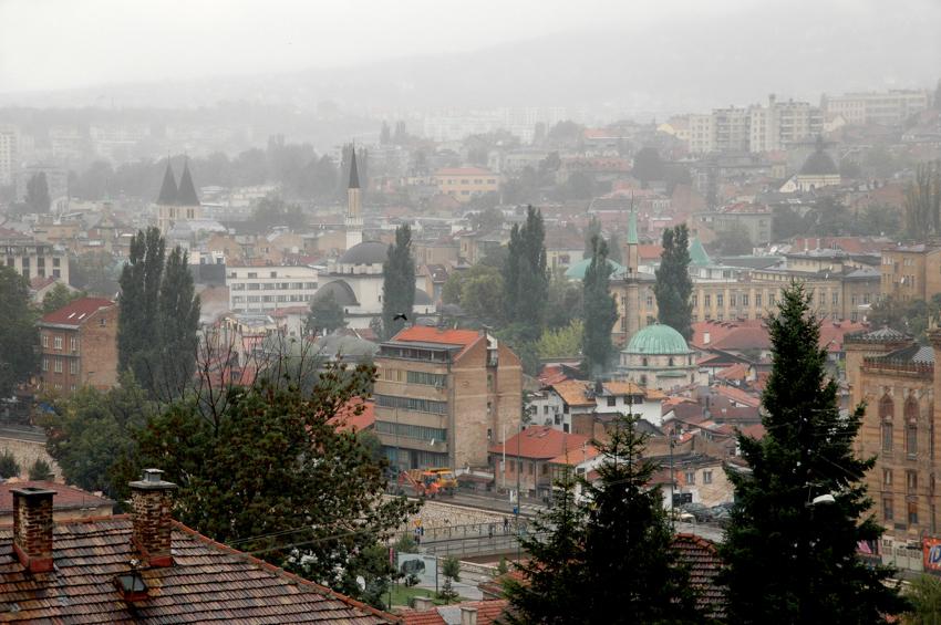 A view of Sarajevo, Bosnia-Herzegovina