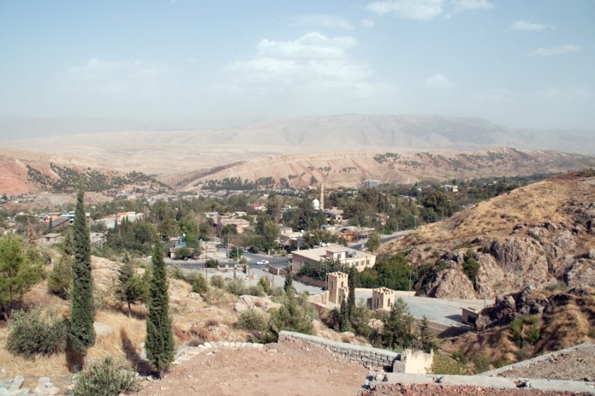 The town of Shaqlawa in the Kurdistan region of Northern Iraq.